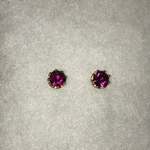 Juicy Couture Pink stone studs